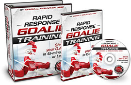 Ultimate Goalie Training System Gateway Page